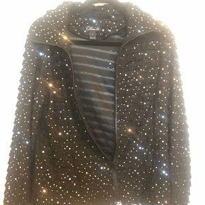 Sparkling Black Clara S. Size Large